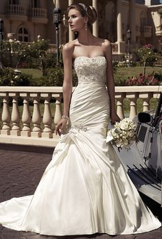 Casablanca Wedding gown available from Bridal Boutique of Baton Rouge bridalboutiquebr.com
