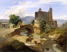 Rio Magdelena...Jose Maria Velasco (1840 - 1912)