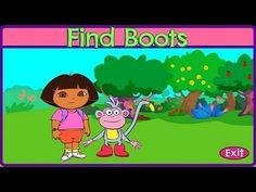 [HD] 도라 더 익스플로러 부츠 찾기 Dora the explorer fine boots monkey game nickelode...