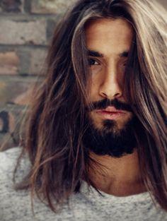 Beard.. Makes me wish I didn't cut my hair