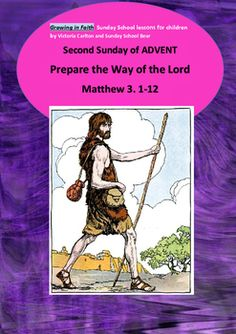 This is a very full (22page!) Sunday School lesson is to help children understand the role John the Baptist played in the unfolding Biblical drama. It will also help them approach the Advent season with a sense of kindness, us and prepare their hearts for the Christmas season.There is so much included and you may want to extend some of the activities over 2 weeks!A detailed lesson plan, songs, poems and chants, suggestions for an Advent sensory tray and paraphrased Bible reading are…