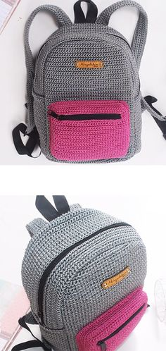 Crochet Backpack patterns afghan patterns crochet patterns afghan scarf blanket A great tutorial to learn how to crochet this school backpack. A great tutorial to learn how to crochet this school backpack. Crochet Diy, Learn To Crochet, Crochet Crafts, Crochet Handbags, Crochet Purses, Crochet Bags, Crochet Stitches, Crochet Patterns, Crochet Bag Tutorials