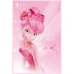 Poster: Disney Fairies - tink pink online te koop. Bestel je poster, je 3d filmposter of soortgelijk product Maxi Poster