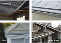 Gutter Helmet may be installed on almost all roofing types - Atlas Home Improvement