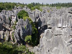 Karst de Shilin - China.
