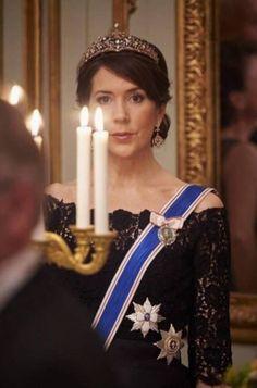 "classicroyalrarepics: ""Crown Princess Mary of Denmark """