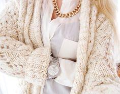 blonde, fashion, jewellery, luxury, sweater, winter