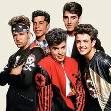 NKOTB! there is my fav Donny looking like an extra badass..haha.. My mom use to always say..oh Michelle why do you have to like the bad one