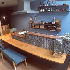 Siomai, Japanese Store, Cafe Bistro, Apartment Projects, Open Kitchen, Liquor Cabinet, Corner Desk, Restaurant, Dining