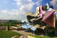 Marqués de Riscal - La Rioja Wineyard, designed by Frank O. Gehry. Elciego