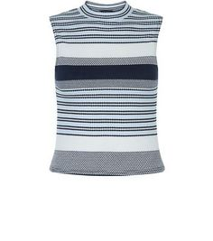 Awesome Petite Navy Stripe Textured Vest Check more at http://www.fiftyshadestores.com/shop/womens/petite-navy-stripe-textured-vest-7/