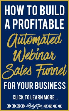 I love automated webinar sales funnels as they allow me to give massive value and make sales on autopilot! It's great for your marketing and will help your online business a ton! Here's the nuts & bolts of how you can build one too! via Raelyn Tan Content Marketing Strategy, Business Marketing, Internet Marketing, Online Marketing, Digital Marketing, Social Marketing, Business Website, Business Tips, Online Business