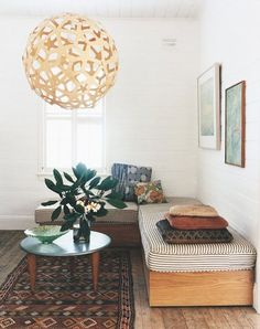 in my dreams, i live here: modern surf shack. in my dreams, i live here: modern surf shack. Style At Home, 70's Style, Club Style, Boho Style, Boho Chic, Shabby Chic, Home Living Room, Living Spaces, Small Living