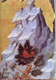 Mountain detail