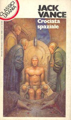 144  CROCIATA SPAZIALE 3/1989  EMPHYRIO (1969)  Copertina di  Oscar Chichoni   JACK VANCE