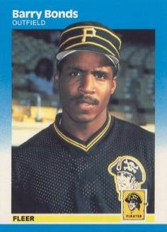 barry bonds pirates baseball card | Barry Bonds | Barry Bonds #2 ...