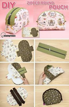 Diy Sewing Projects, Sewing Tutorials, Bag Tutorials, Diy Bags Patterns, Purse Patterns, Sewing Patterns, Diy Bag Designs, Diy Bags Purses, Pouch Pattern