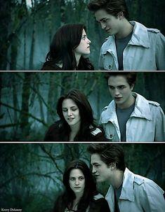 Twilight ~ Edward and Bella Twilight Saga Series, Twilight Edward, Twilight Cast, Edward Bella, Twilight New Moon, Edward Cullen, Twilight Quotes, Twilight Pictures, Funny Twilight