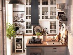 Kleine Ikea-Küche
