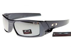 Oakley Crankcase Sunglasses Gray Frame Silver Lens 0147