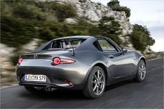 The new Mazda MX-5 RF in first test - All About Automotive