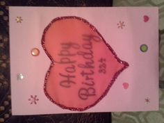 Birthday Card for Webbs Bday