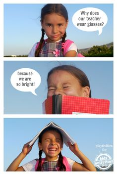 Take the lighthearted approach to going back to school with these kid-approved jokes!