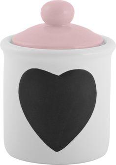 Retro Treats Pink Ice Cream Toppings Jar