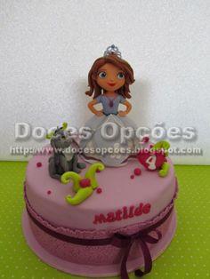 Doces Opções: A Princesa Sofia no 4º aniversário da Matilde