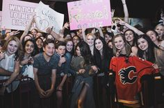 Calgary Canada  ALSO: meeting you guys after my shows has been such a highlight.. but because your safety is priority and most important if we can't keep them contained I'll have to stop. I'll do it for as long as I can but you matter most. Love you guys. Can't wait to see you Saskatoon by selenagomez