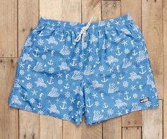 Southern Marsh Collection — The Dockside Swim Trunk - Anchors