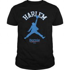 Awesome Tee BERNIE SANDERS - HARLEM T shirts