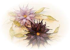 Papiergarn Studio: Flieder, lila.....