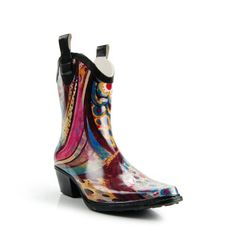 Nature Breeze CB-RAIN-02-LOW Women's Cowboy Lower Mid Calf Rain Boots Nature Breeze. $24.99
