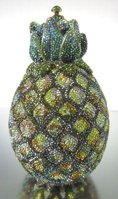 Judith Leiber Hawaii Pineapple Crystal Handbag $2400