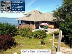 See 1 photo from visitors to Downeast Maine Vacation Rentals. Maine Vacation Rentals, Blue Hill, Coastal Cottage, Places To Eat, Gazebo, Nest, Outdoor Structures, Tours, Nest Box