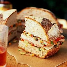 Feast on 38 Super Sandwiches & Subs | Midwest Living Stone House Bread Cafe in Leland, Michigan shares this recipe for a New Orleans classic. Called a Michigan Muffuletta.