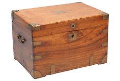 English Camphorwood Box, C. 1860 on OneKingsLane.com $2475. It looks much the same as my box.