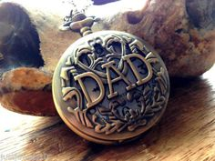 Dad gift Mens Father Christmas xmas for him Grandad Pocket Watch Son Baba #christmasgifts #christmas2014 #gifts
