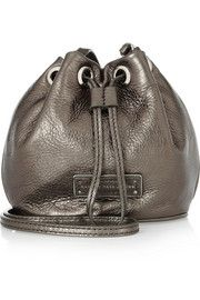 Marc by Marc Jacobs Too Hot To Handle metallic leather shoulder bag
