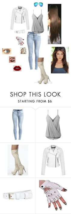 """""""Untitled #315"""" by alenamacys ❤ liked on Polyvore featuring Object Collectors Item, Miss Selfridge, Whistles, Victoria Beckham and Traits"""