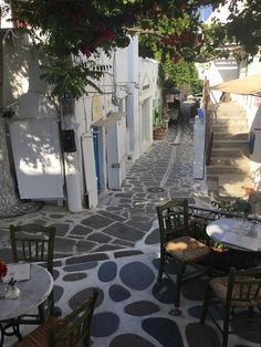 Parikia - Paros, Greece Paros Greece, Santorini Greece, Mykonos, Paros Island, Greece Islands, Acropolis, Ancient Greece, Greece Travel, Dream Vacations