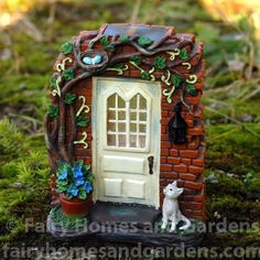 Fairy Homes and Gardens - Rectory Solar Fairy Door, $27.99 (https://www.fairyhomesandgardens.com/rectory-solar-fairy-door/)