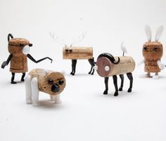 http://webecoist.momtastic.com/2012/03/09/recycle-wine-corks-into-adorable-creatures-with-corkers/ Recycle Wine Corks into Adorable Creatures with 'Corkers'