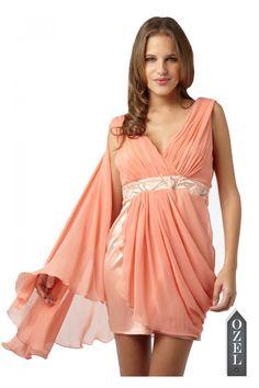 One Shoulder Drape Sleeve Dress by Lipsy Shop - Ozel