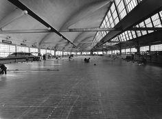 Cantiere Navale Ansaldo di Genova-Sestri. Sala a tracciare (Photo: Ansaldo S.A. Reparto fotografico, 1956-1957)
