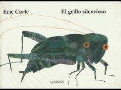 'The Very Quiet Cricket Character Front Cover' by Eric Carle Painting Print on Wrapped Canvas Eric Carle, The Very Quiet Cricket, Time In Spanish, Sensory Book, Album Jeunesse, How To Teach Kids, Summer Books, Collage Illustration, Book Club Books