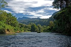 Malaysia Mountains and Rivers