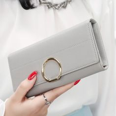 Cheap folding wallet, Buy Quality three fold wallet directly from China wallets for women Suppliers: New arrival hasp three fold wallet for women wallets brands purse dollar price high quality designer purse card holder coin bag Womens Designer Purses, Designer Wallets, Buy Wallet, Purse Wallet, Cute Wallets, Women's Wallets, Custom Purses, Purse Brands, Wallets For Women Leather