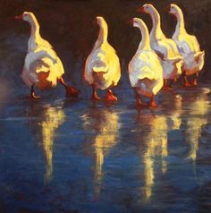 Easy Does It by Cheri Christensen Oil ~ 44 x 44